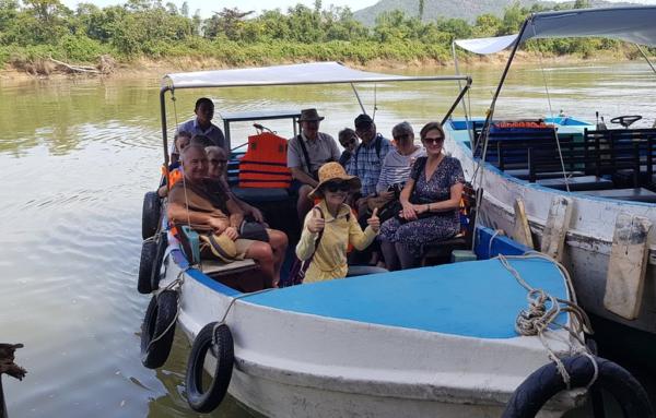 Promenade sur la rivière - Nha Trang